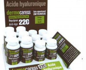 dermocaress, acide hyaluronique
